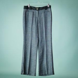 Anthro Elevenses 8 Blue Brighton Fit Pants